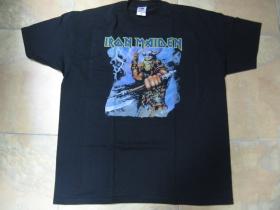 Iron Maiden čierne pánske tričko 100% bavlna