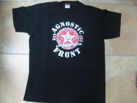 Agnostic Front čierne pánske tričko 100%bavlna