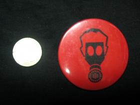 Plynová maska  odznak veľký,  priemer 55mm