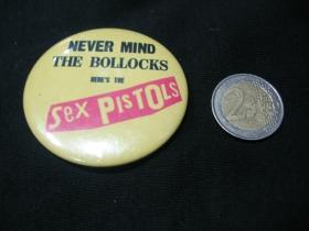 Sex Pistols   odznak veľký, priemer 55mm