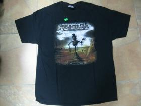 Avantasia čierne pánske tričko 100%bavlna