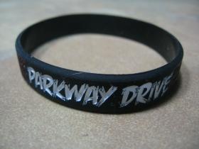 Parkway Drive pružný silikónový náramok s vyrazeným motívom
