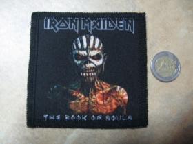 Iron Maiden ofsetová nášivka po krajoch obšívaná cca. 9x9cm