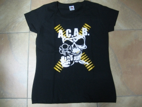 A.C.A.B. dámske tričko 100%bavlna značka Fruit of The Loom
