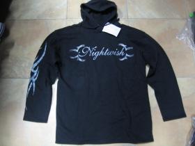 Nightwish mikina s kapucou stiahnutelnou šnúrkami