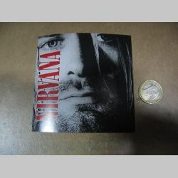 Nirvana - Kurt Cobain  pogumovaná nálepka
