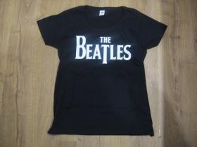 The Beatles  čierne dámske tričko 100%bavlna