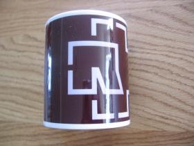 Rammstein porcelánový pohár - šálka s uškom, objemom cca. 0,33L