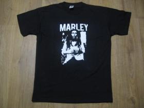 Marley čierne pánske tričko 100%bavlna