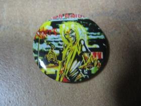 Iron Maiden, odznak priemer cca.30mm