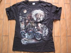 American Legend  čierne tričko 100%bavlna