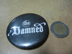 The Damned odznak veľký, priemer 55mm