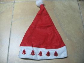 Mikulášska - vianočná - silvestrovská zimná čiapka  univerzálna veľkosť