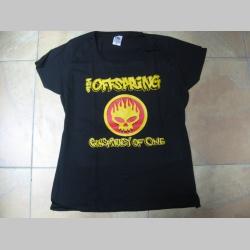 Offspring čierne dámske tričko 100% bavlna