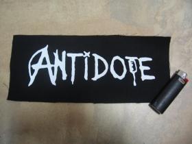 Antidote chrbtová nášivka rozmery cca. 28x12cm (po krajoch neobšívaná)