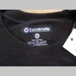 Lambretta čierne pánske tričko materiál 100% bavlna posledné kusy veľkosti XL, XXL