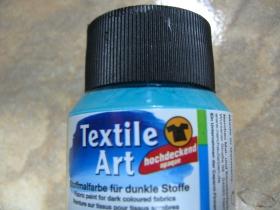 Farba na textil tyrkysová 59ml