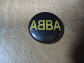 Abba, odznak priemer 25mm
