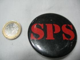 SPS  odznak veľký,  priemer 55mm