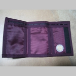 FC Barcelona  textilná peňaženka so zapínaním na suchý zips