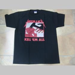 Metallica Kill em All čierne pánske tričko 100%bavlna