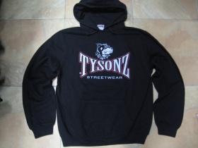Tysonz  mikina s kapucou stiahnutelnou šnúrkami a klokankovým vreckom vpredu