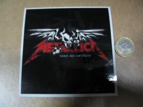 Metallica pogumovaná nálepka