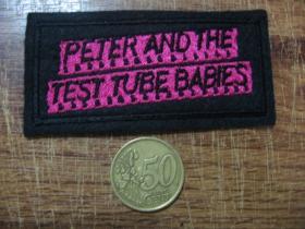 Peter and the test tube Babies vyšívaná nášivka - posledný kus!!!