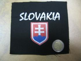 Slovakia, malá potlačená nášivka rozmery cca. 12x12cm (neobšívaná)