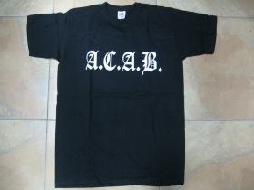A.C.A.B.  pánske tričko 100%bavlna Fruit of The Loom