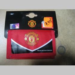 Manchester United, textilná peňaženka so zapínaním na suchý zips