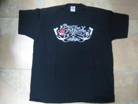 Bullet for My Valentine čierne  pánske tričko 100 %bavlna
