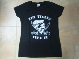 The Fialky Punk 77 čierne dámske tričko 100%bavlna