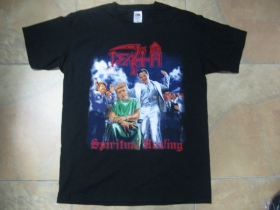 078d45e48dea Death čierne pánske tričko 100%bavlna