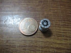 "Ganja ""falošný tunel"" priemer 8mm, materiál chirurgická oceľ cena za 1ks!"