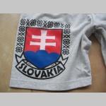 Slovakia - Slovensko teplákové kraťasy s tlačeným logom