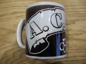 A.C.A.B. boxer porcelánový pohár - šálka s uškom, objemom cca. 0,33L