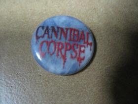 Cannibal Corpse, odznak priemer 25mm