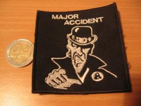 Major Accident,  vyšívaná nášivka