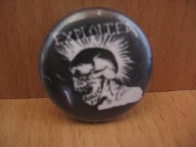Exploited odznak priemer 25mm