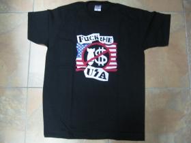 Fuck The USA pánske tričko 100%bavlna značka Fruit of The Loom