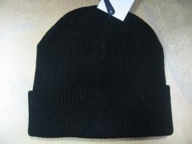 Zimná čiapka COMMANDO, kulich, čierna pletená 100%akryl  univerzálna veľkosť