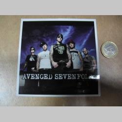 Avenged Sevenfold  pogumovaná nálepka