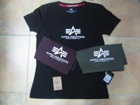 Alpha Industries - dámske tričko s tlačeným logom materiál: 100%bavlna