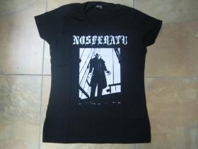 Upír NOSFERATU - Dracula čierne dámske tričko 100%bavlna značka Fruit of The Loom