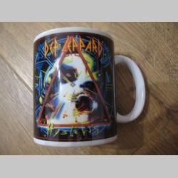 Def Leppard porcelánový pohár - šálka s uškom, objemom cca. 0,33L