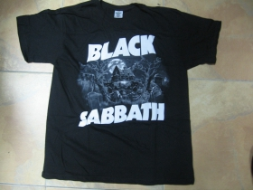 Black Sabbath čierne pánske tričko 100%bavlna