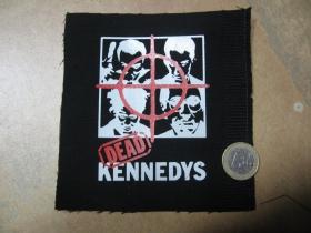 Dead Kennedys potlačená nášivka rozmery cca. 12x12cm (po krajoch neobšívaná)
