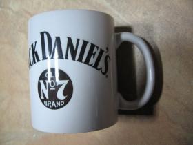 Jack Daniels  porcelánový pohár - šálka s uškom, objemom cca. 0,33L