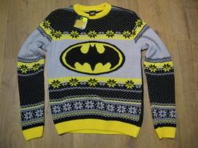 Batman čiernožltý sveter materiál 100% akryl  posledné kusy veľkosti M, L